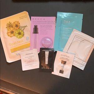 Bundle of skincare/primers/mask. New